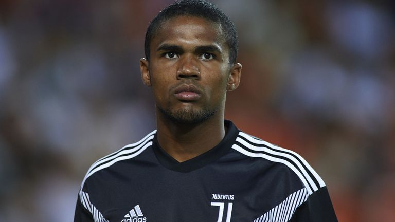 From Italy: Juventus reject £60m bid from Manchester United for Douglas Costa