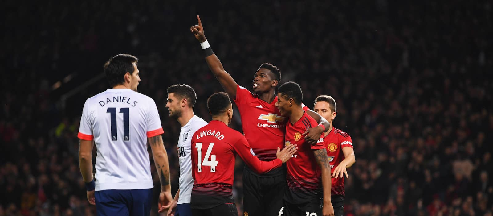 Photo gallery: Manchester United 4-1 AFC Bournemouth