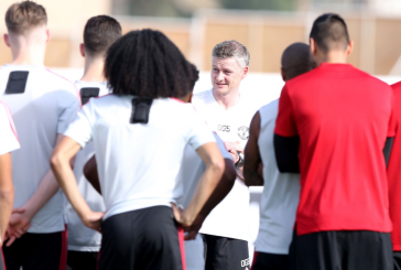 Photo gallery: Manchester United train in Dubai for the last time