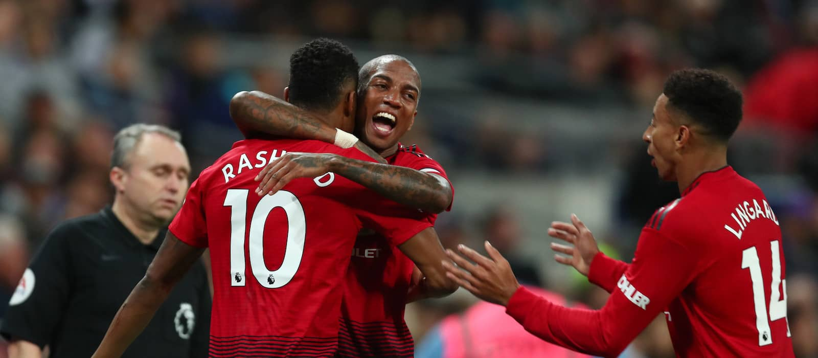 Player ratings: Tottenham Hotspur 0-1 Manchester United