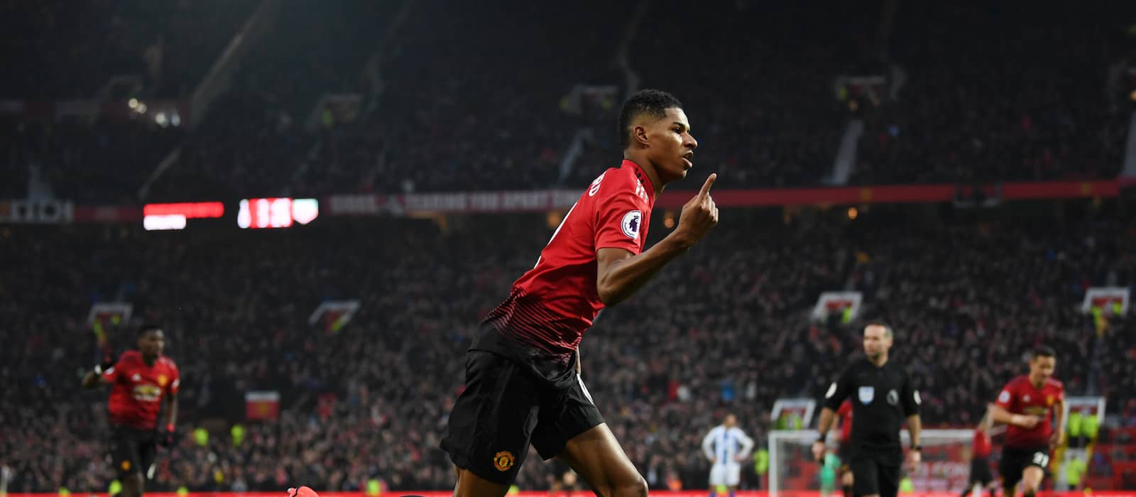 Manchester United fans ecstatic with Marcus Rashford's performance vs Brighton