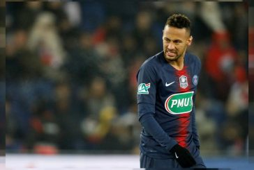 Neymar a doubt for Manchester United clash after suffering ankle injury