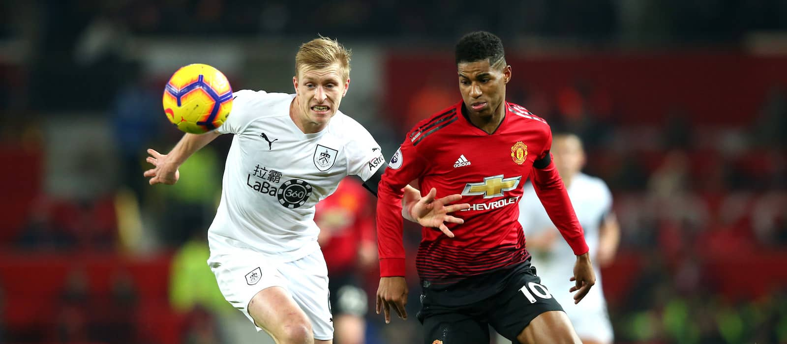 Player ratings: Manchester United 2-2 Burnley