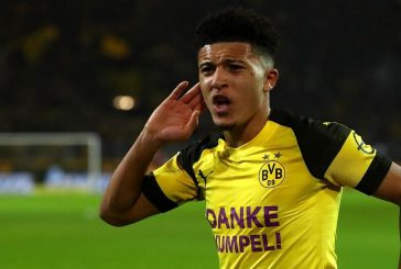 Manchester United keeping tabs on Borussia Dortmund forward Jadon Sancho – report
