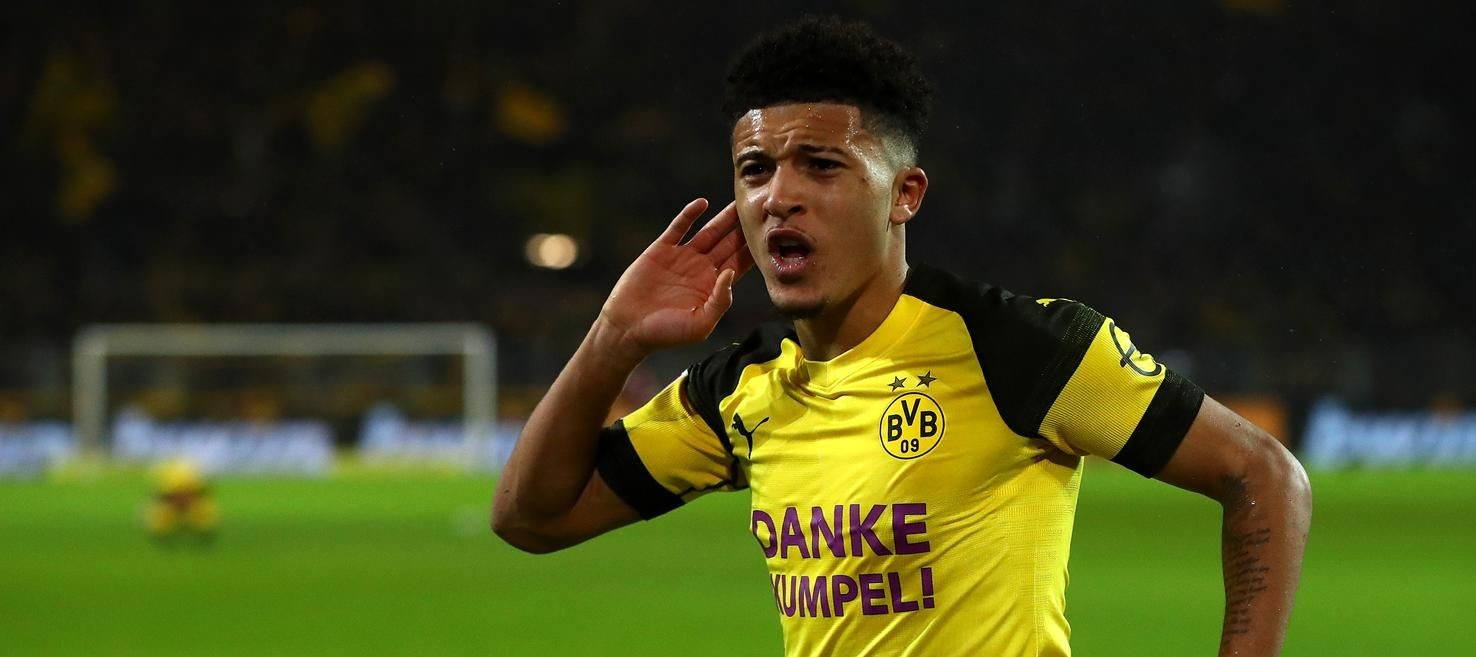 Manchester United keeping tabs on Borussia Dortmund forward Jadon Sancho – report