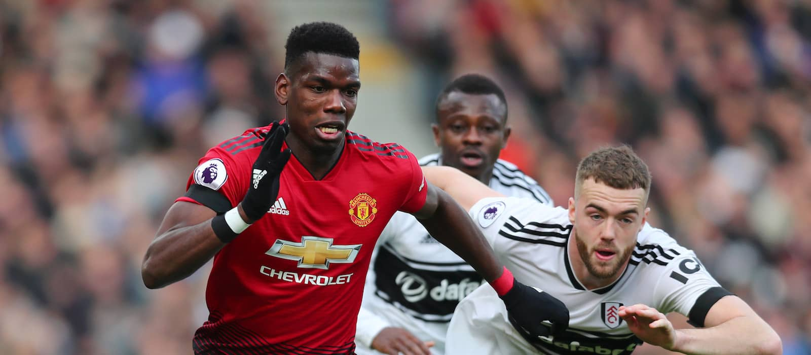 Manchester United fans react to Paul Pogba's performance vs Fulham