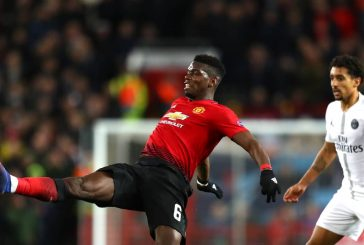 Paul Pogba loses his cool during Paris Saint Germain defeat