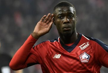 Manchester United given huge boost in pursuit of Lille's Nicolas Pepe