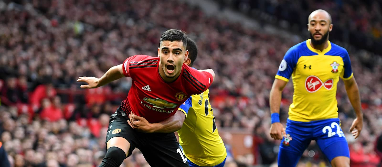 Andreas Pereira produces superb second half display against Southampton