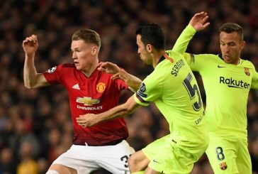 Manchester United fans delighted with Scott McTominay's performance vs Barcelona