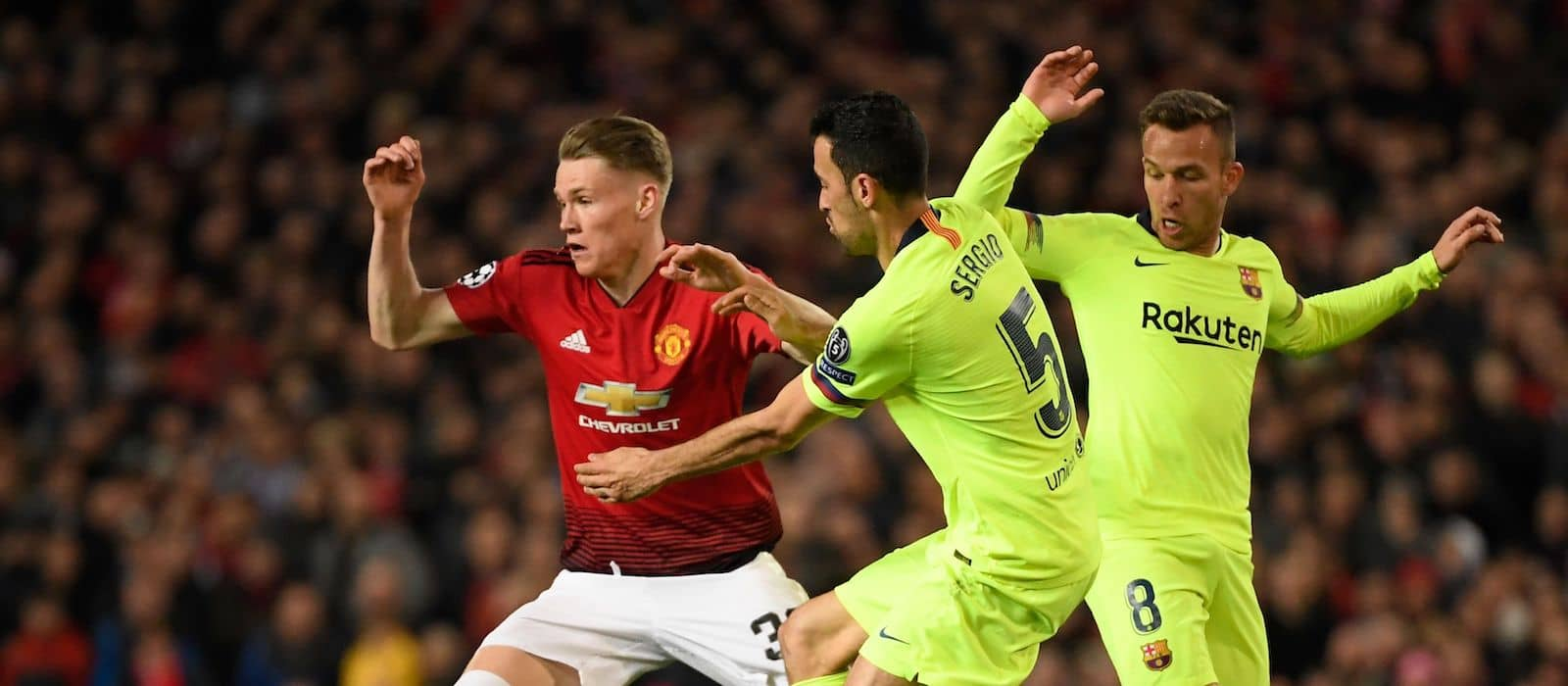 Jose Mourinho hails Scott McTominay's performance against Barcelona