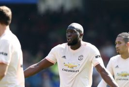 Romelu Lukaku with a day to forget against former team Everton