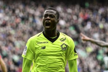 Manchester United dealt blow in race for Lille's Nicolas Pepe