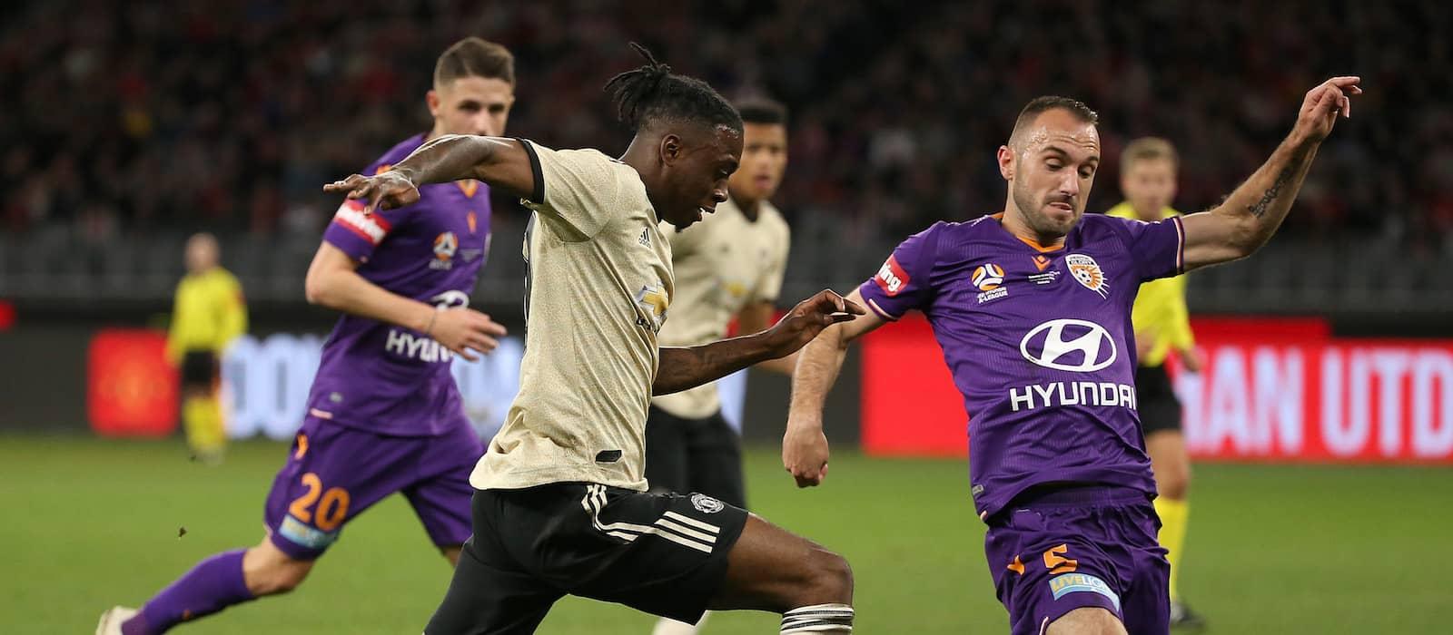 Video: Manchester United fan gets emotional over Aaron Wan-Bissaka