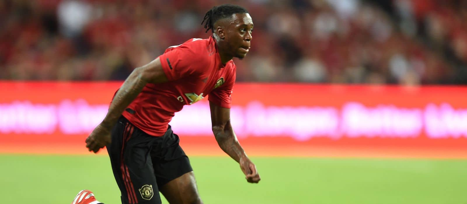 Aaron Wan-Bissaka continues to impress for Manchester United against Kristiansund