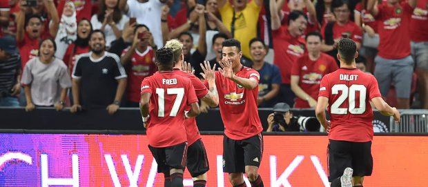 Man United players on international duty