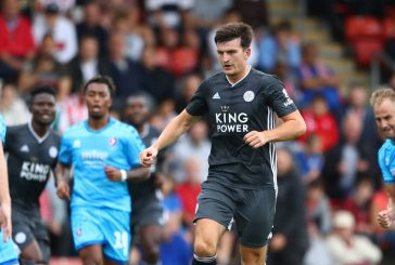 Demarai Gray not worried about Harry Maguire joining Manchester United