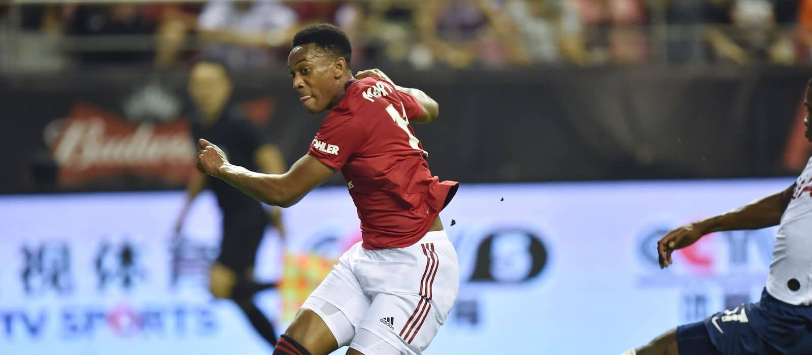 Anthony Martial reveals backing from Ole Gunnar Solskjaer in striker role