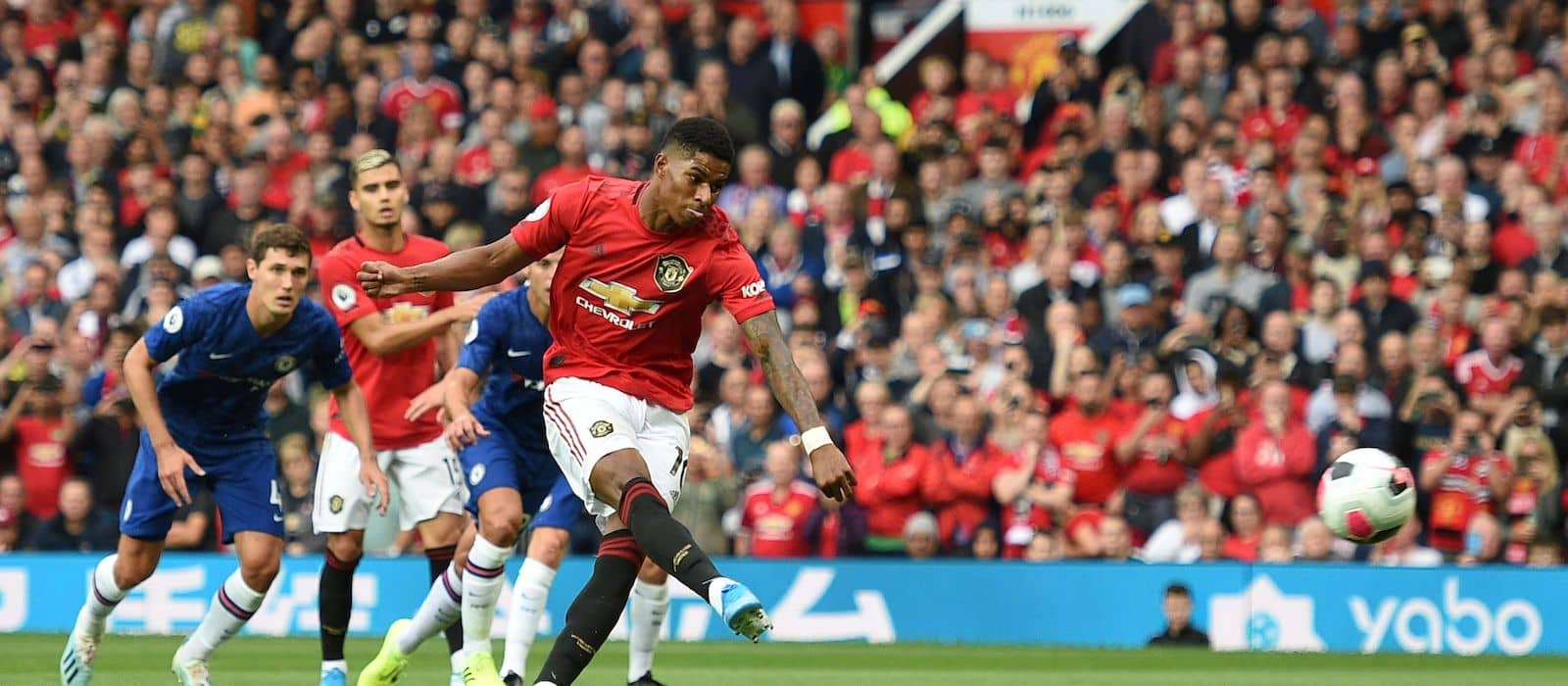 Gary Neville: Anthony Martial can succeed as a striker