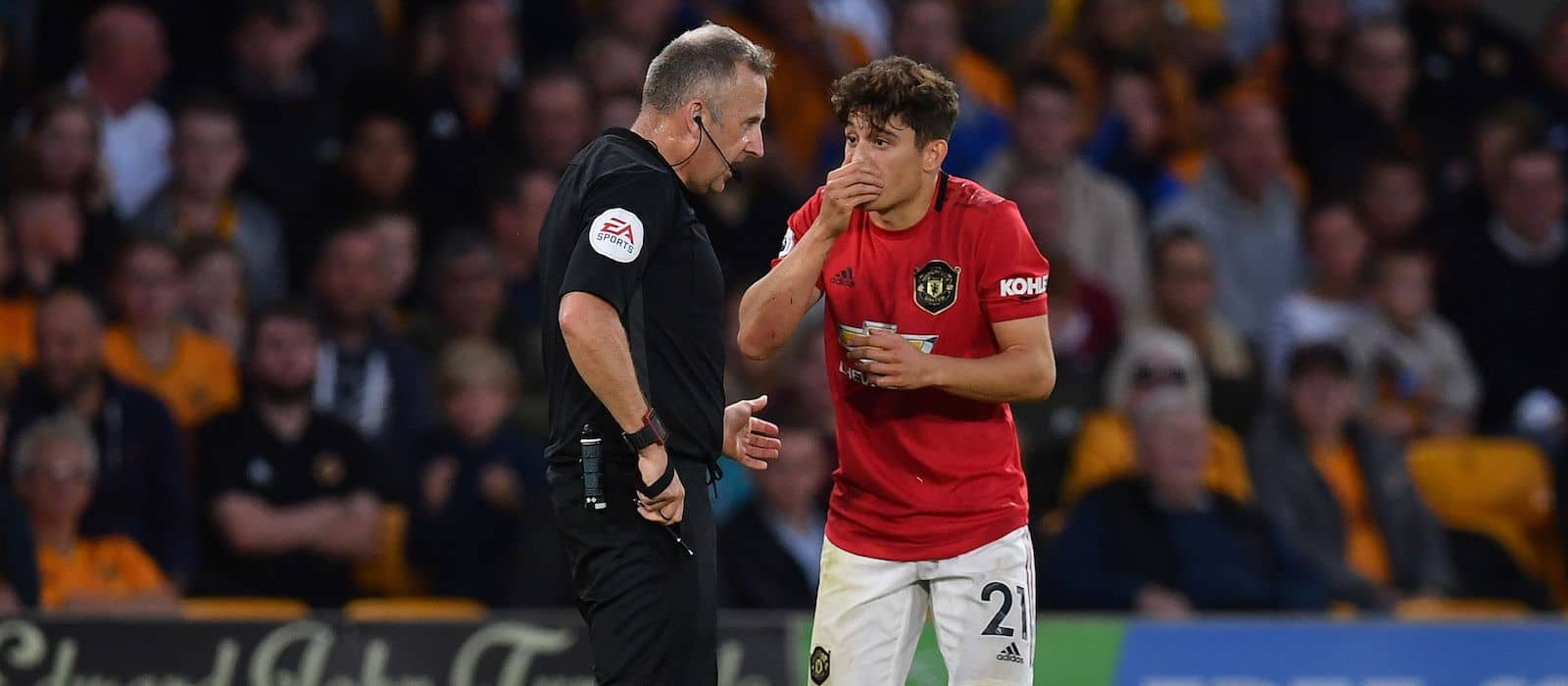 Ryan Giggs reveals Ole Gunnar Solskjaer chat about Daniel James