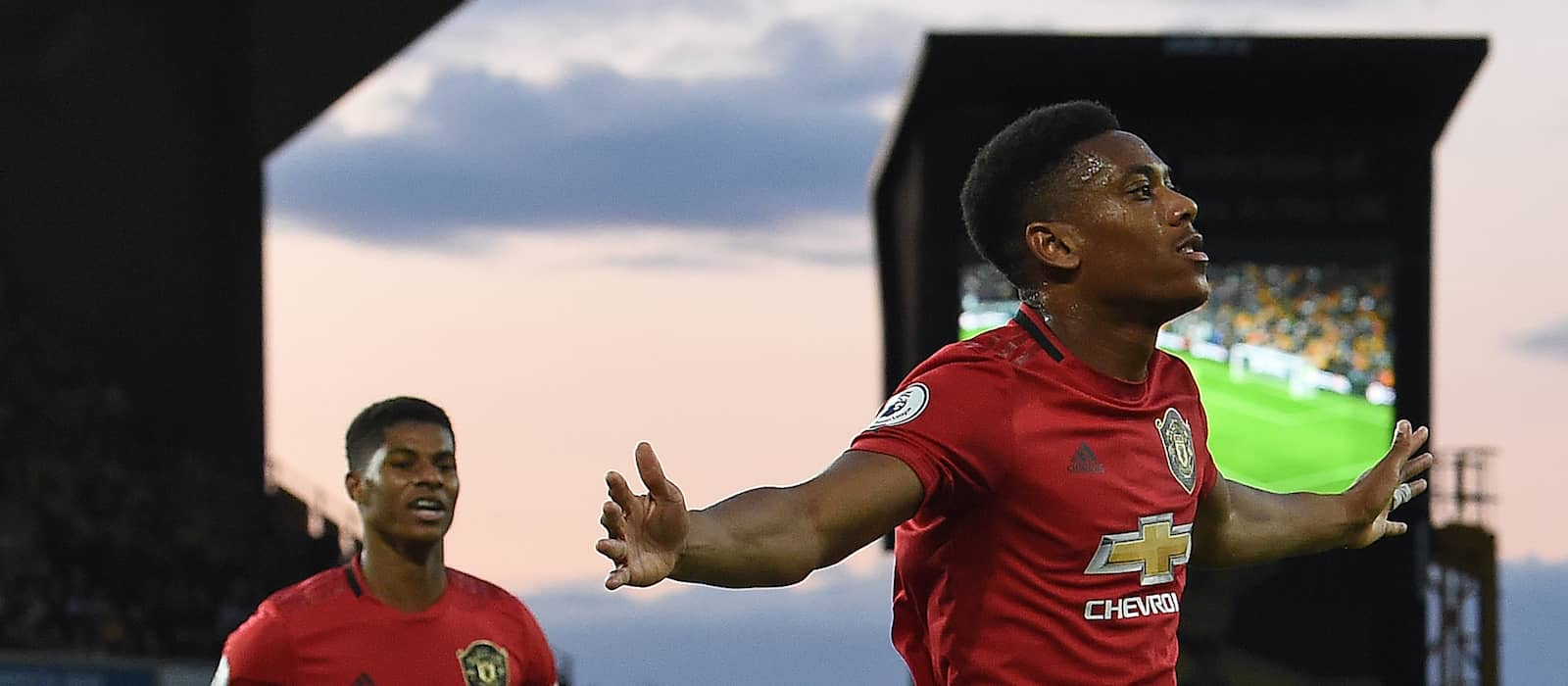 Anthony Martial reveals training competition with Marcus Rashford