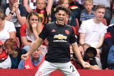 Manchester United fans are buzzing after Daniel James scores superb goal vs. Belarus