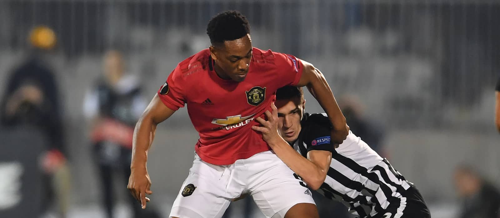 Player ratings: Partizan Belgrade 0-1 Manchester United