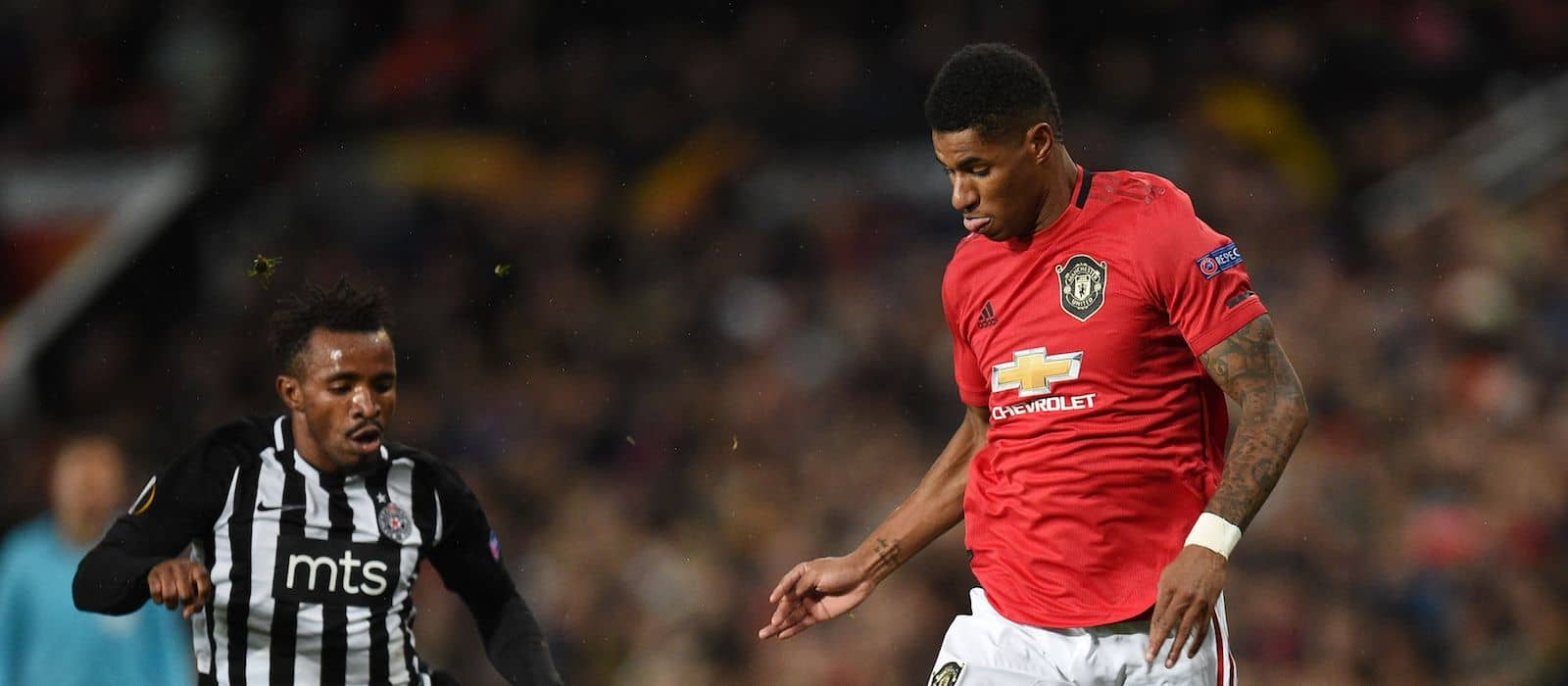 Marcus Rashford's outstanding statistics after cruising past Partizan