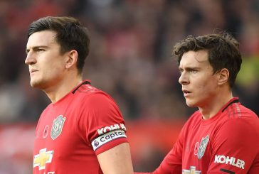 Harry Maguire and Victor Lindelof make least errors in the league