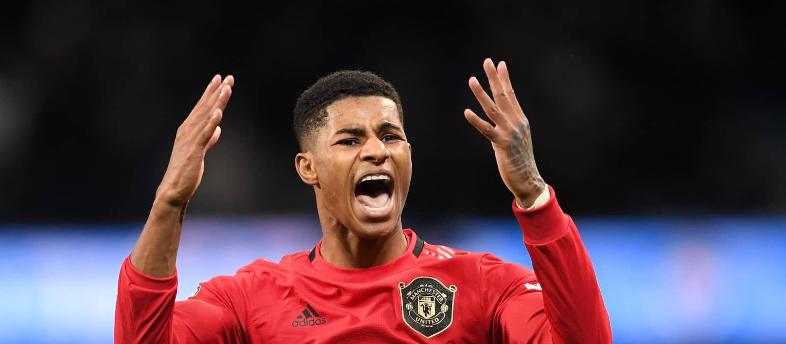 Marcus Rashford could play 18 more games this season