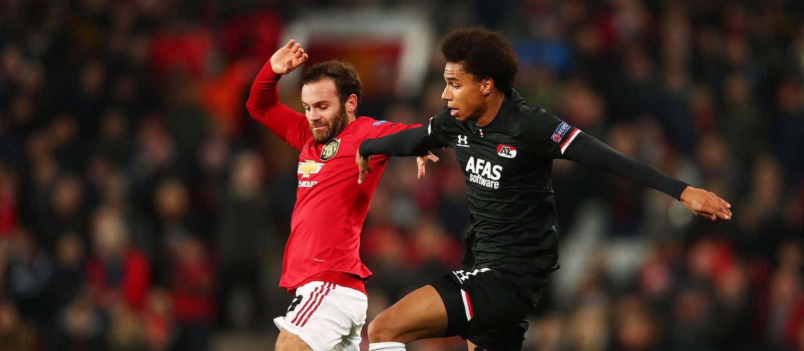 Juan Mata silences critics with fine performance vs AZ Alkmaar