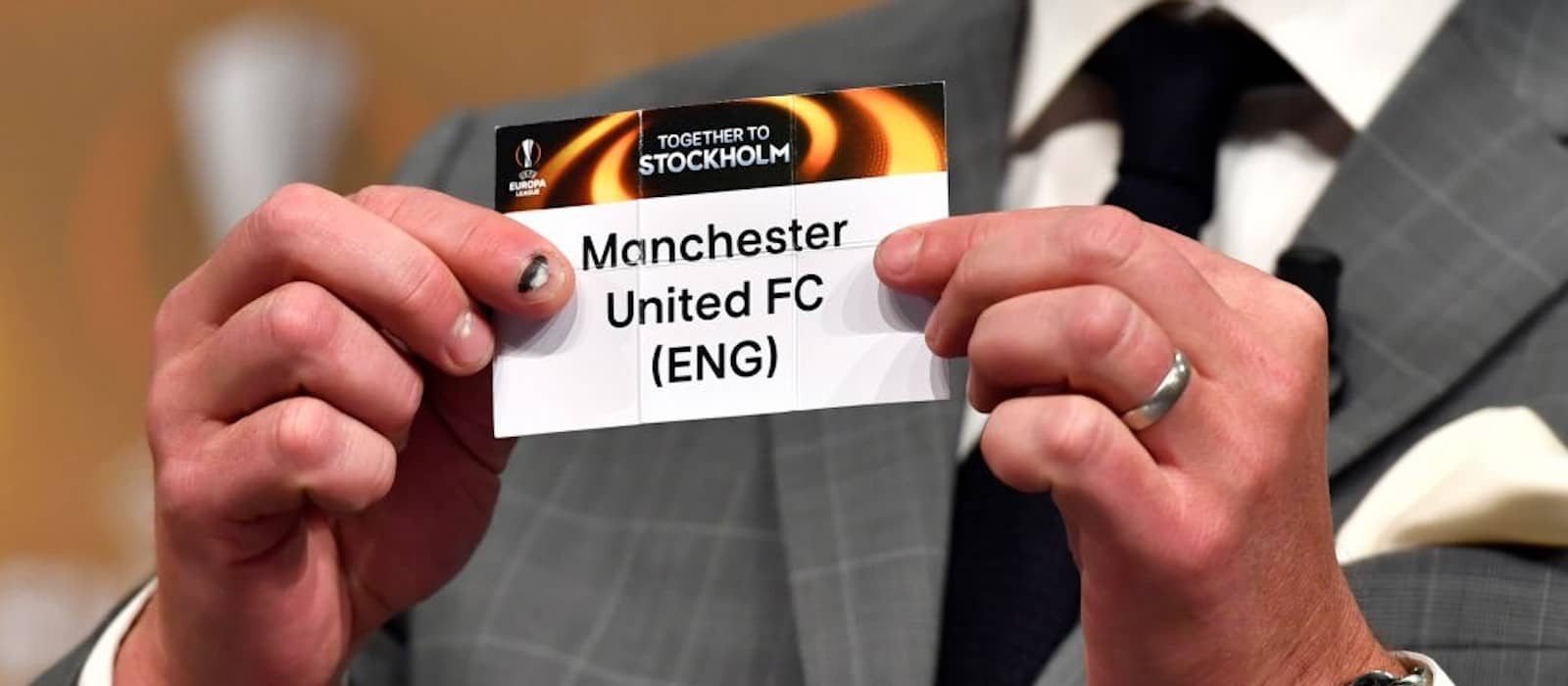 Manchester United draw Club Bruges in first Europa League knockout stage