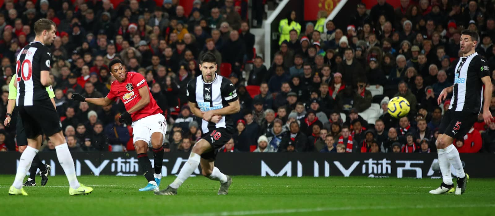 Stats: Anthony Martial's man-of-the-match performance against Newcastle United