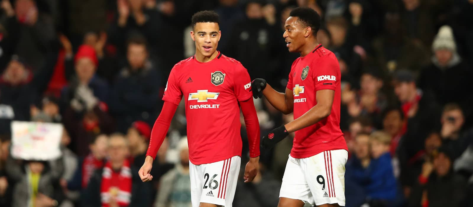 Manchester United fans laud Mason Greenwood's goalscoring display