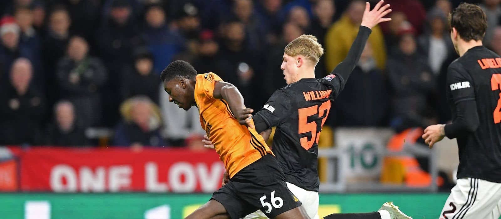 Brandon Williams impresses once again for Manchester United during Wolverhampton Wanderers stalemate