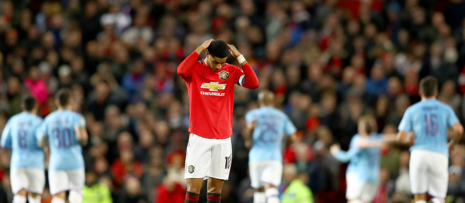 Photo gallery: Manchester United 1-3 Manchester City