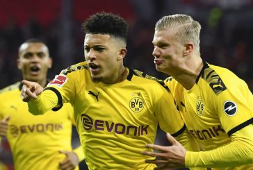 Borussia Dortmund's Lucien Favre finally admits Jadon Sancho may leave