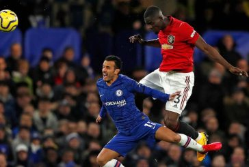 Video: Eric Bailly puts in crazy match saving tackle vs Chelsea