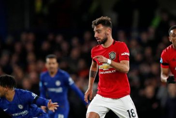 Manchester United fans excited by Bruno Fernandes' performance vs Chelsea