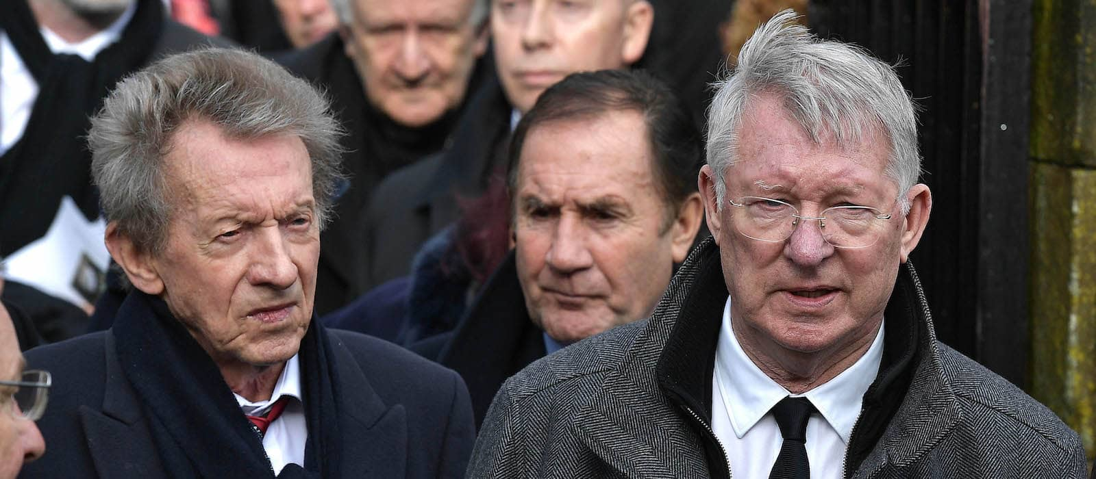Harry Gregg, Man United legend's funeral: photo gallery