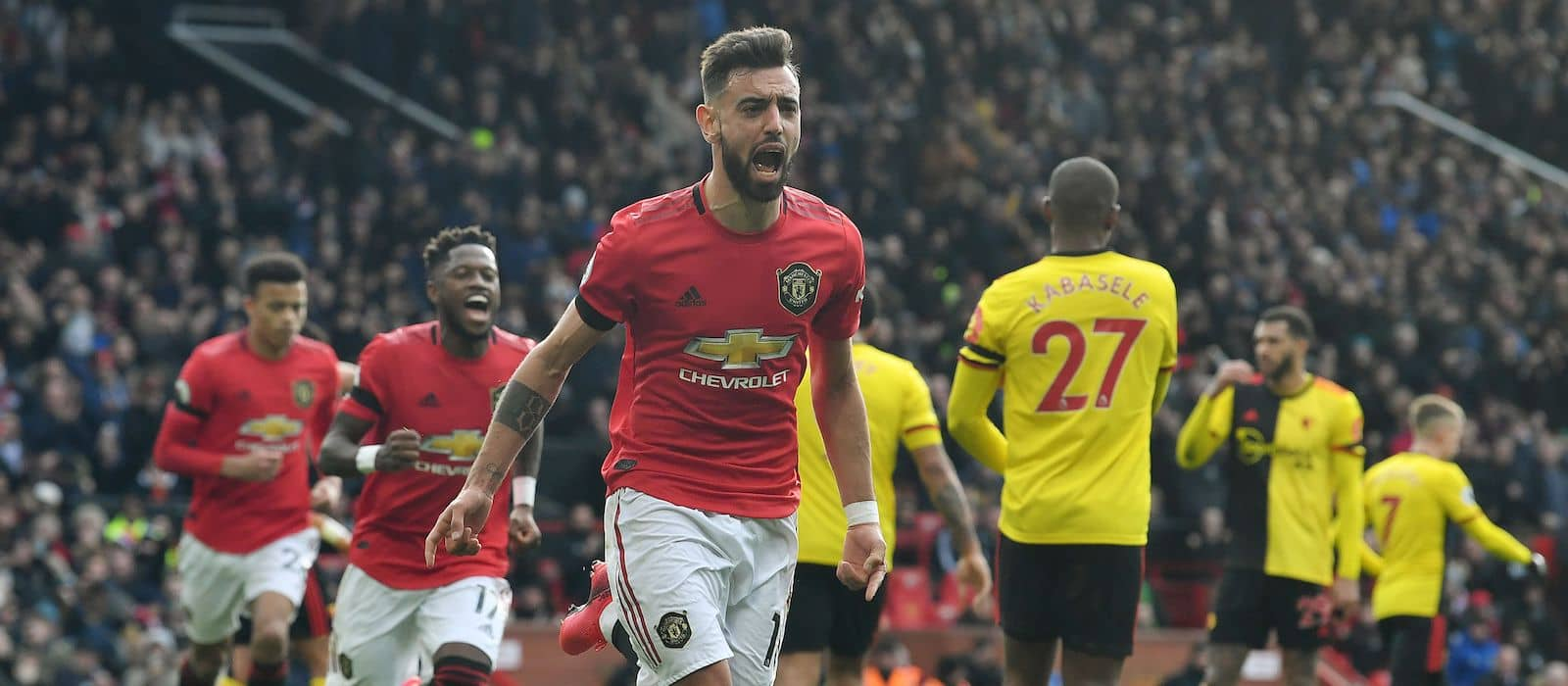 Bruno Fernandes blows Watford away in stunning performance