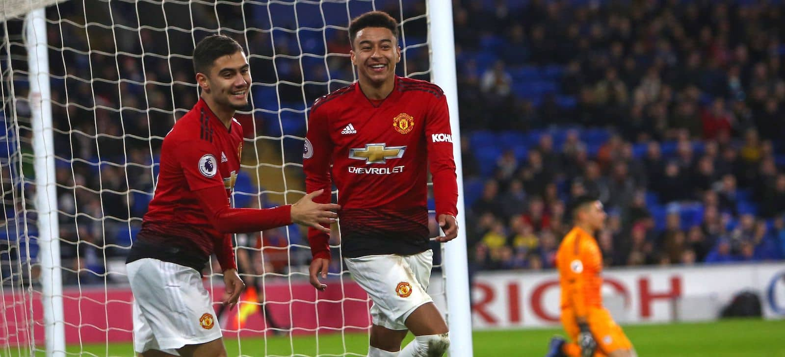 Manchester United fans pleased with Andreas Pereira and Jesse Lingard absence