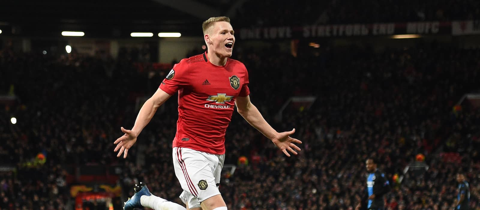 Video: Scott McTominay in fine form in Manchester United training