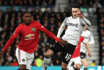 Manchester United fans react to Odion Ighalo's performance vs Derby
