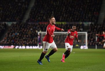 Manchester United fans lament Luke Shaw absence in West Ham draw
