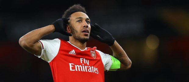 Pierre-Emerick Aubameyang linked with £50 million Man United move