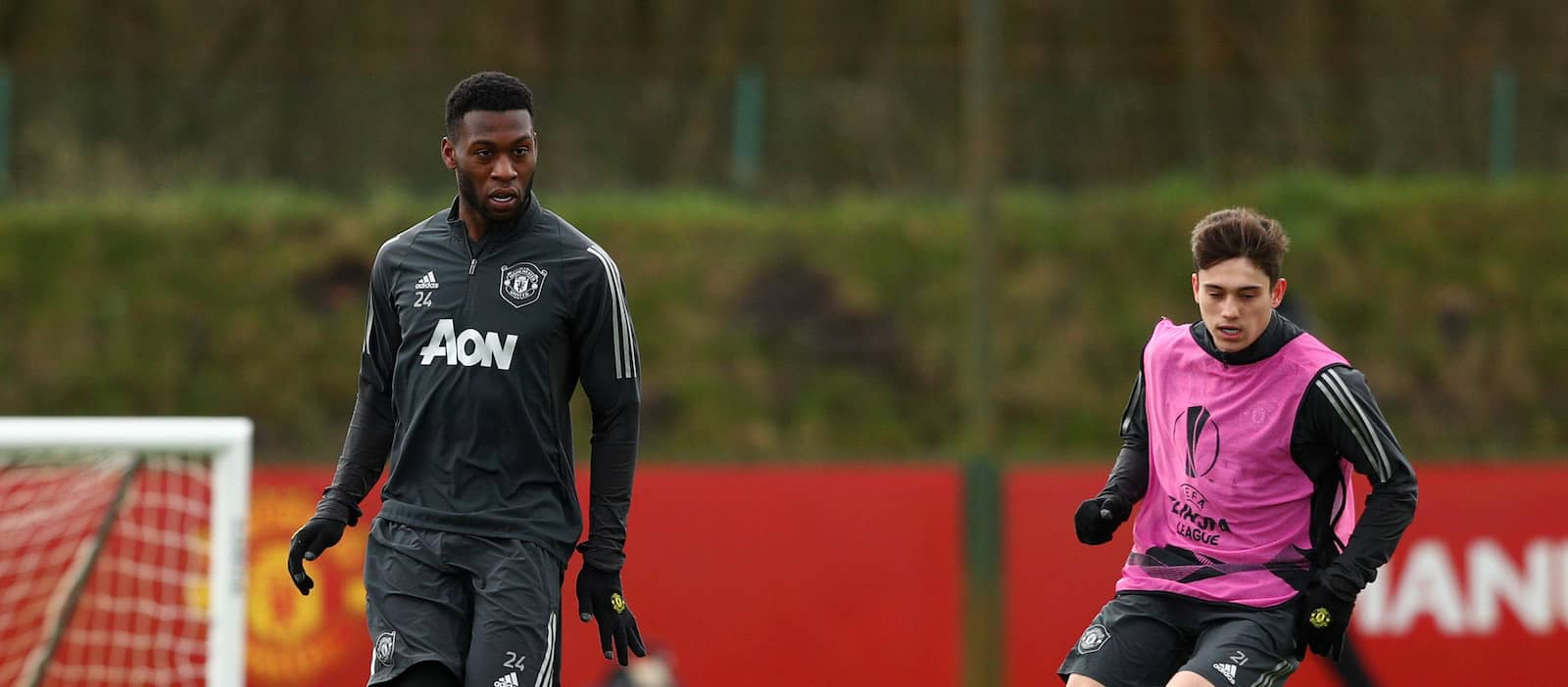 Timothy Fosu-Mensah's contract extension triggered by Manchester United