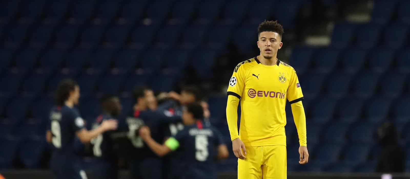 Pep Guardiola confirms Manchester City will not rival United for Jadon Sancho