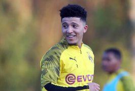Borussia Dortmund set early deadline for Jadon Sancho deal
