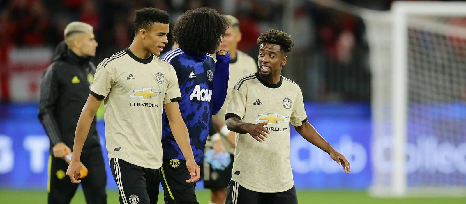 Ole Gunnar Solskjaer calls on Tahith Chong and Angel Gomes to continue developing